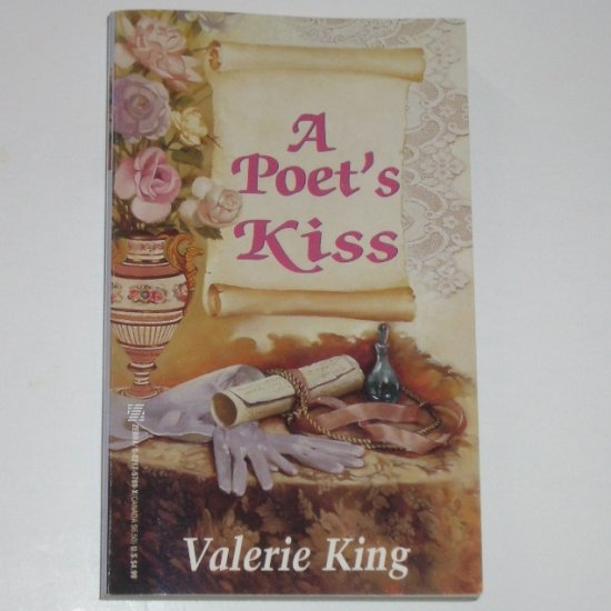 A Poet's Kiss by VALERIE KING Historical English Regency Romance 1997