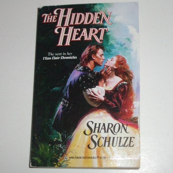 The Hidden Heart by SHARON SCHULZE Harlequin Historical No 485 Medieval Romance 1999