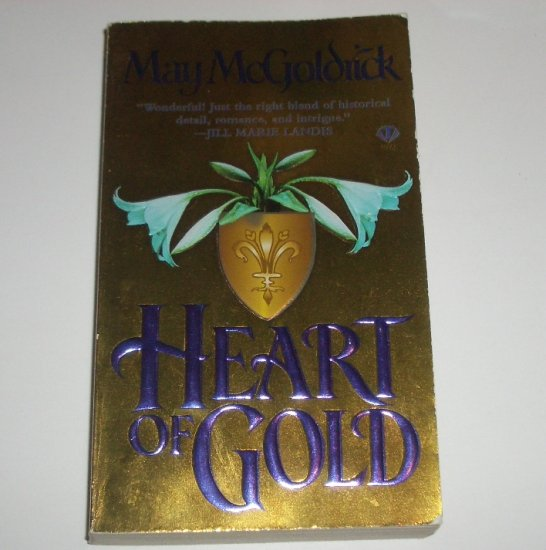 Heart of Gold by MAY McGOLDRICK Medieval Scottish Romance 1996