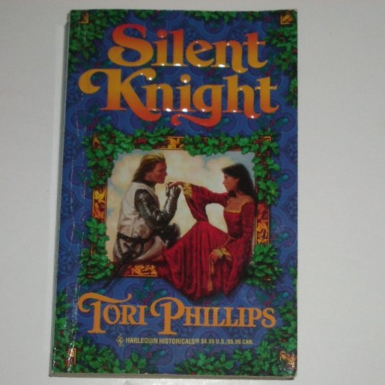 Silent Knight by TORI PHILLIPS Historical Medieval Romance 1996 Cavendish Chronicles Series