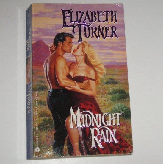 Midnight Rain by ELIZABETH TURNER Historical Western Romance 1994