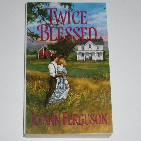 Twice Blessed by Jo Ann Ferguson Zebra Ballad Historical Romance 2002 Haven Series