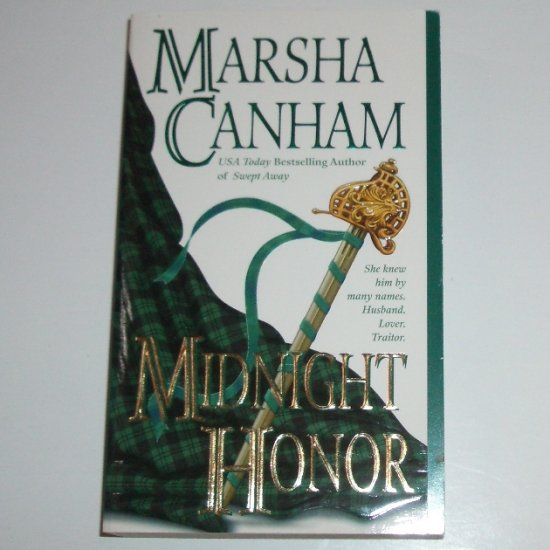 Midnight Honor by MARSHA CANHAM Historical Scottish Romance 2001 Top Pick