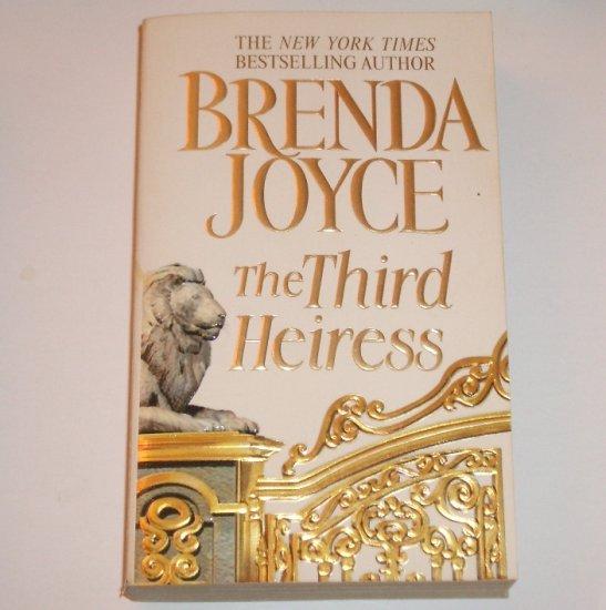The Third Heiress by Brenda Joyce Romantic Suspense 2000