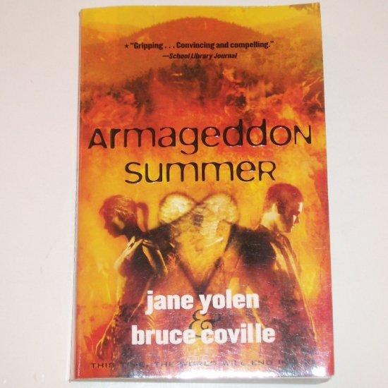 Armageddon Summer by JANE YOLEN and BRUCE COVILLE YA Romance 1999
