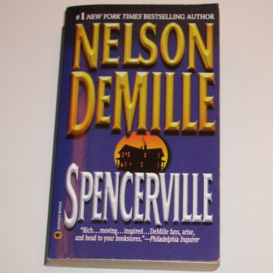 Spencerville by NELSON DeMILLE Suspense Thriller 1998