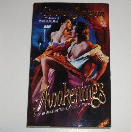 Awakenings by SARANNE DAWSON Paranormal Futuristic Romance 1993