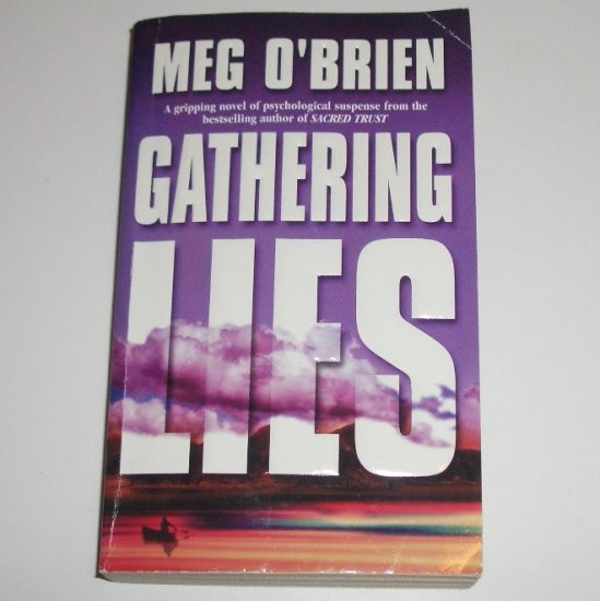 Gathering Lies by MEG O'BRIEN Thriller 2001