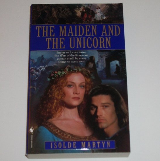 The Maiden and the Unicorn by ISOLDE MARTYN Historical Medieval Romance 1999 TOP PICK