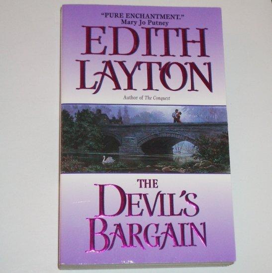 The Devil's Bargain by EDITH LAYTON Historical Regency Romance 2002