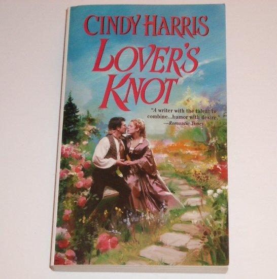 Lover's Knot by Cindy Harris Zebra Ballad Victorian Irish Romance 2002 Dublin Dreams Series