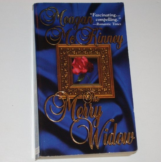 The Merry Widow by MEAGAN McKINNEY Historical Western Romance 2000