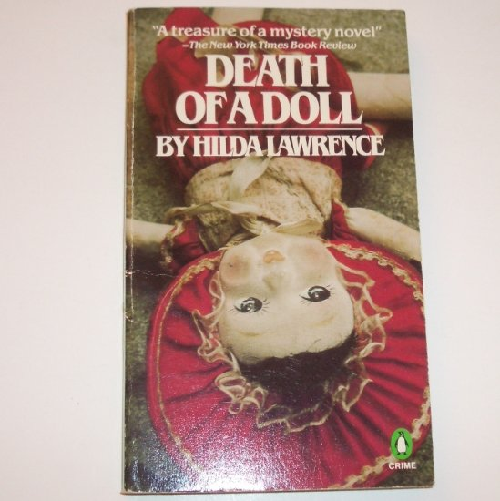 Death of a Doll by HILDA LAWRENCE Murder Mystery 1982