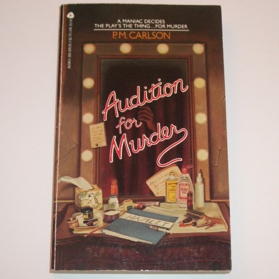 Audition for Murder by P M CARLSON Mystery 1985