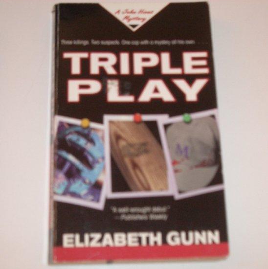 Triple Play by ELIZABETH GUNN A Jake Hines Mystery 1998