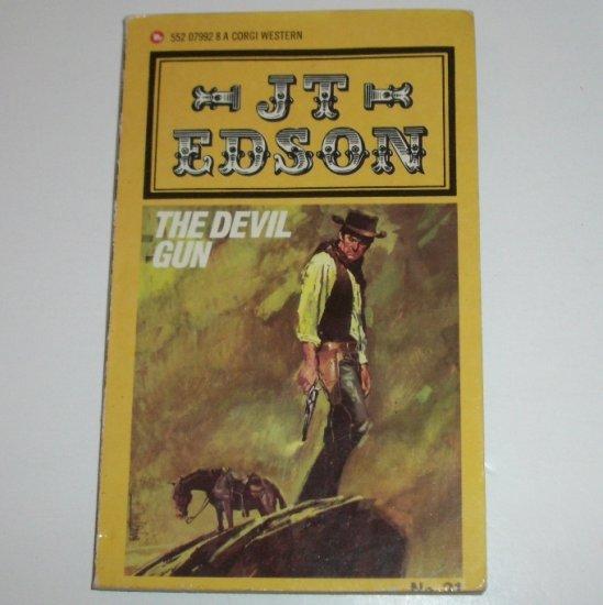 The Devil Gun by J T EDSON Civil War Western 1979