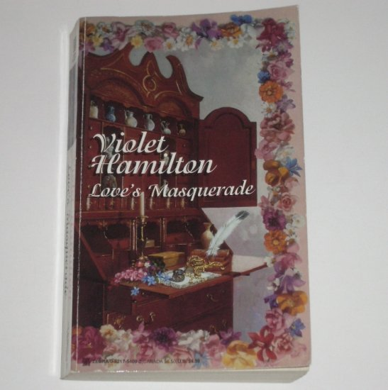 Love's Masquerade by VIOLET HAMILTON Zebra Historical Regency Romance 1996