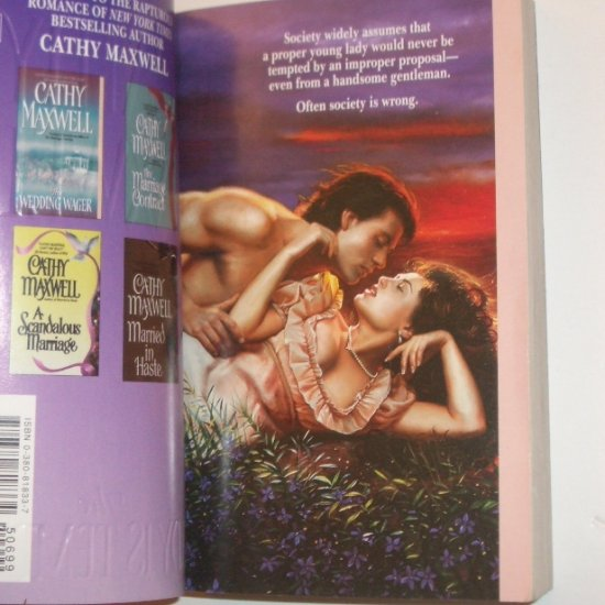 The Lady is Tempted by Cathy Maxwell Historical Regency Romance 2002
