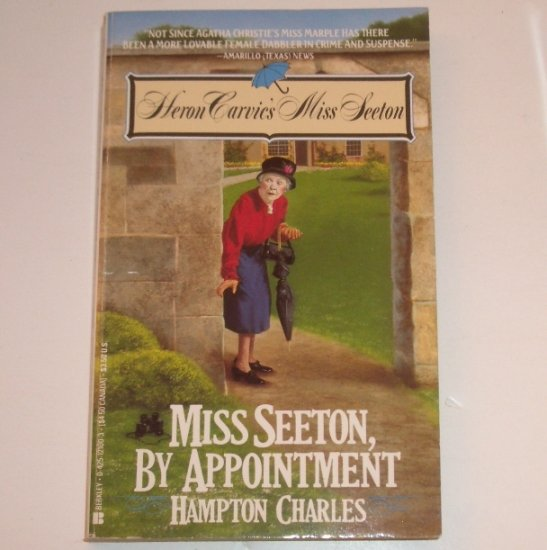 Miss Seeton, By Appointment by HAMPTON CHARLES Cozy Mystery 1990