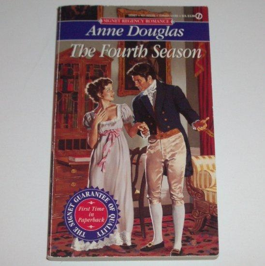 The Fourth Season by ANNE DOUGLAS Signet Historical Regency Romance 1995