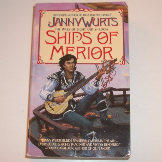 Ships of Merior by JANNY WURTS Fantasy 1995 The Wars Of Light And Shadows Series