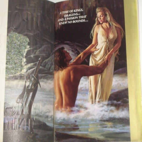Through a Dark Mist by MARSHA CANHAM Historical Medieval Romance 1991 TOP PICK