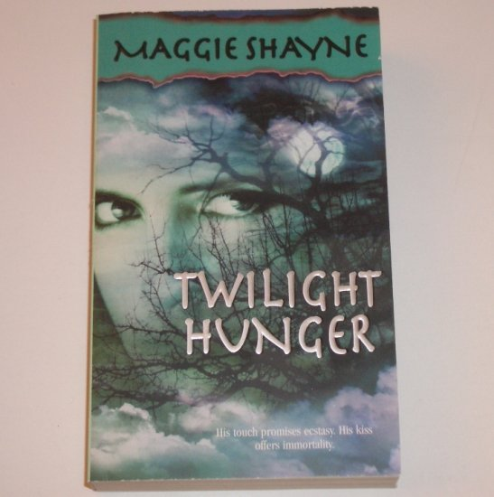 Twilight Hunger by MAGGIE SHAYNE Paranormal Vampire Romance 2002 Wings in the Night Series
