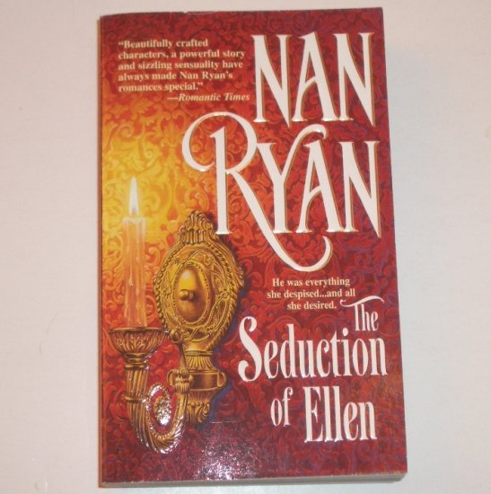 The Seduction of Ellen by NAN RYAN Historical Western Romance 2001