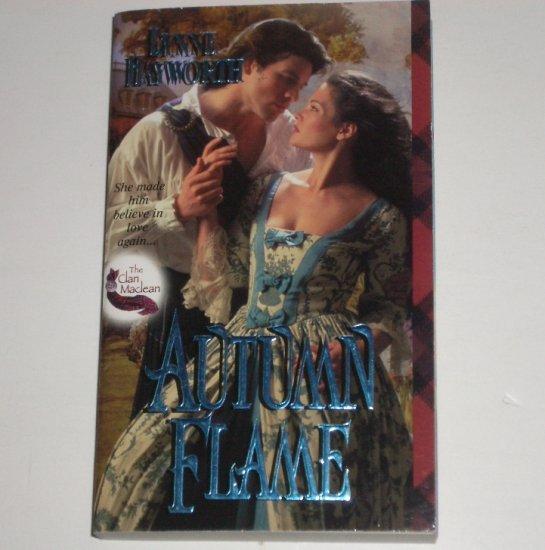 Autumn Flame by LYNNE HAYWORTH Zebra Ballad Scottish Highlands Romance 2001 The Clan Maclean Series