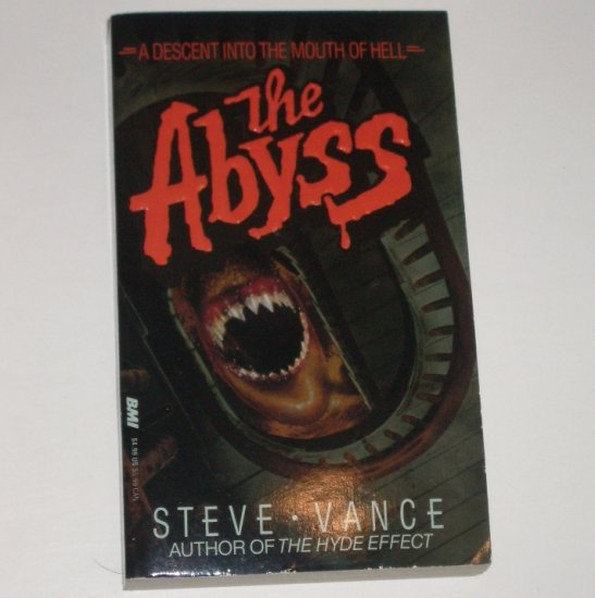 The Abyss by STEVE VANCE Horror 1989