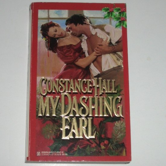 My Dashing Earl by CONSTANCE HALL Historical Regency Romance 1998