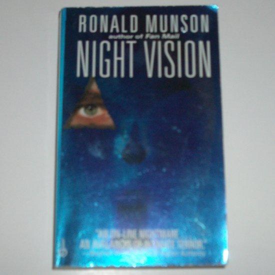 Night Vision by RONALD MUNSON Suspense Thriller 1996