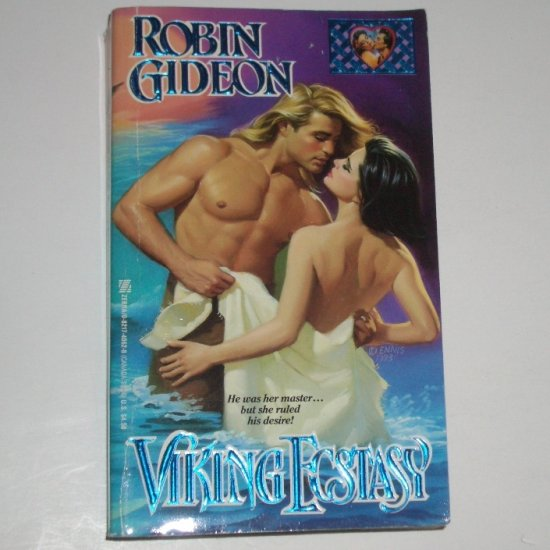 Viking Ecstasy by ROBIN GIDEON Historical Viking Romance 1993