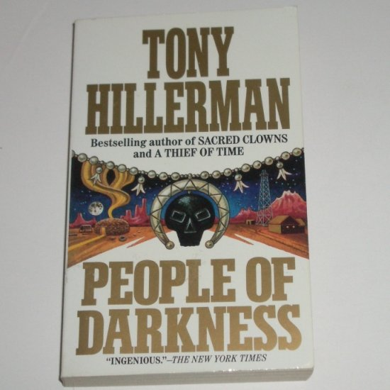 People of Darkness by TONY HILLERMAN A Jim Chee / Joe Leaphorn Mystery 1991