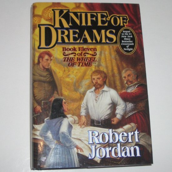 Knife of Dreams by ROBERT JORDAN Hardcover with Dust Jacket 2005 Wheel of Time Book 11