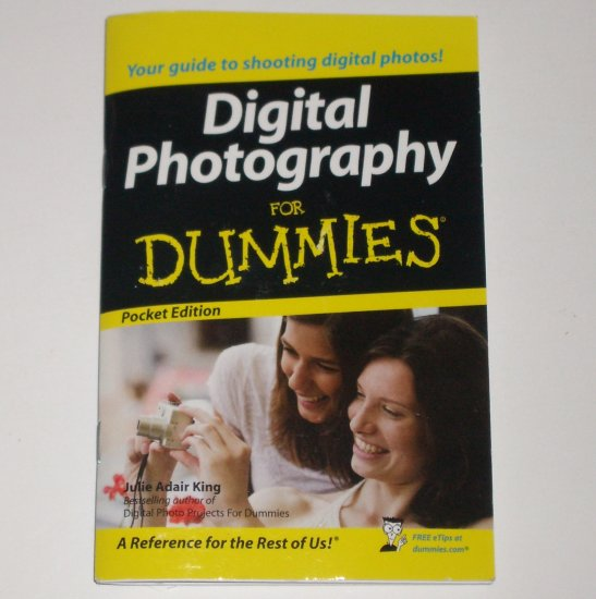 Digital Photography for Dummies Pocket Edition 2008