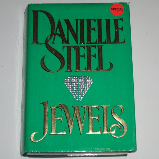 Jewels by DANIELLE STEEL Hardcover with Dust Jacket 1992