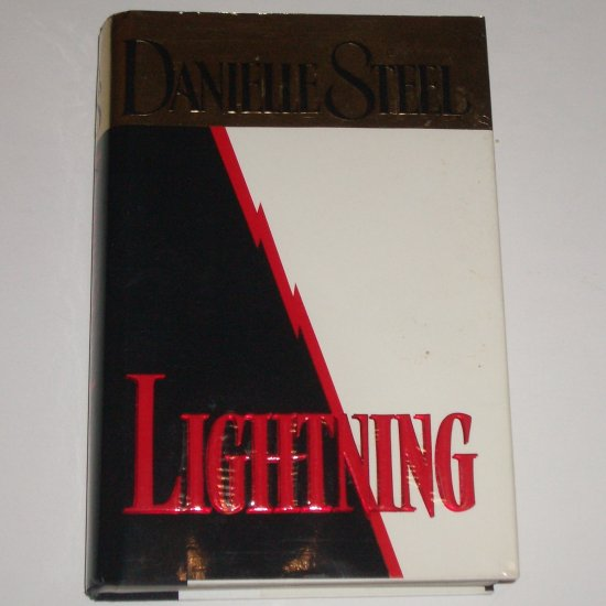 Lightning by DANIELLE STEEL Hardcover with Dust Jacket 1995