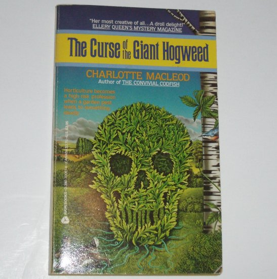 The Curse of the Giant Hogweed by CHARLOTTE MACLEOD Peter & Helen Shandy Mystery 1986