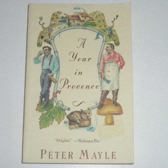 A Year in Provence by PETER MAYLE Trade Size 1991