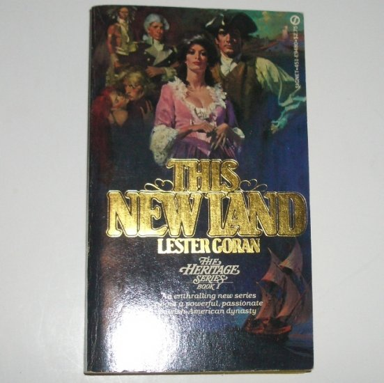 This New Land by LESTER GORAN 1980 Heritage Series Book 1