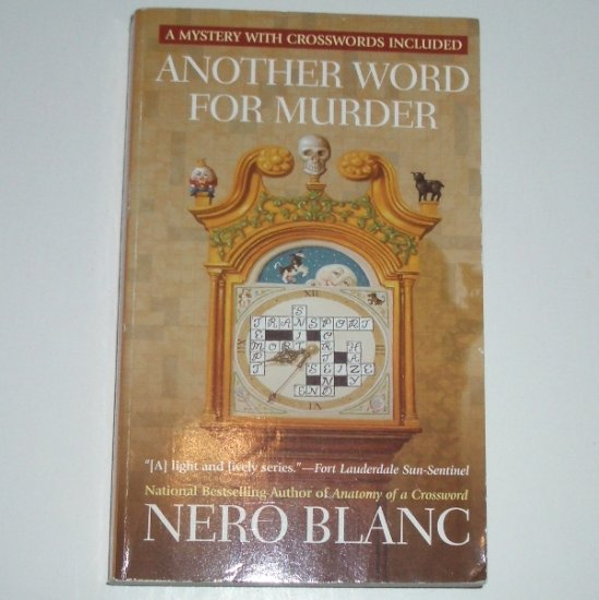 Another Word for Murder by NERO BLANC A Berkley Prime Crime Crossword Mystery 2006