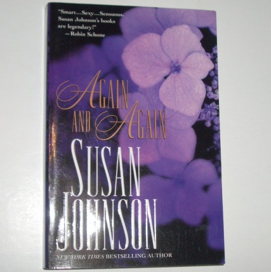 Again and Again by SUSAN JOHNSON Trade Size Historical Regency Romance 2002