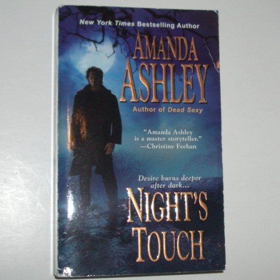 Night's Touch by AMANDA ASHLEY Paranormal Vampire Romance 2007