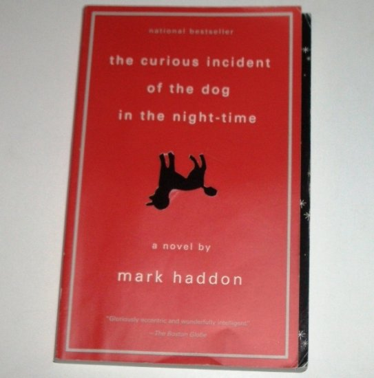 The Curious Incident of the Dog in the Night-Time by MARK HADDON Trade Size 2003