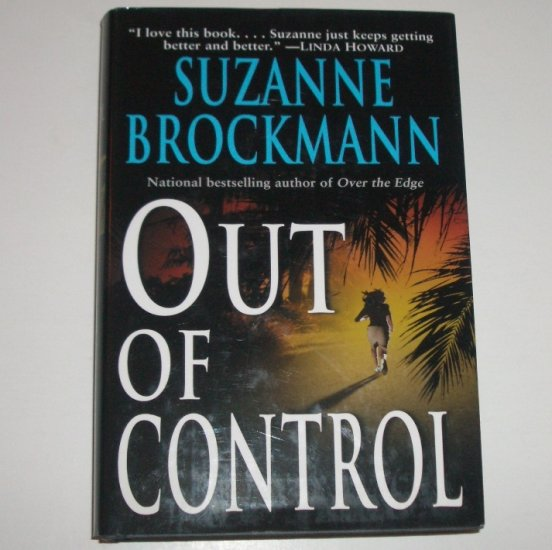Out of Control by SUZANNE BROCKMANN Hardcover Dust Jacket 2002 Troubleshooters