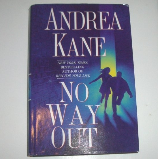 No Way Out by ANDREA KANE Hardcover Dust Jacket 2001