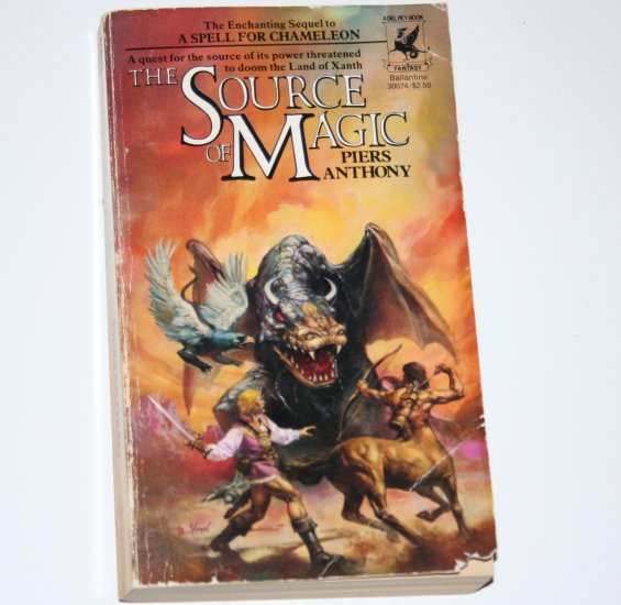 The Source of Magic by PIERS ANTHONY Fantasy 1981 Xanth Series