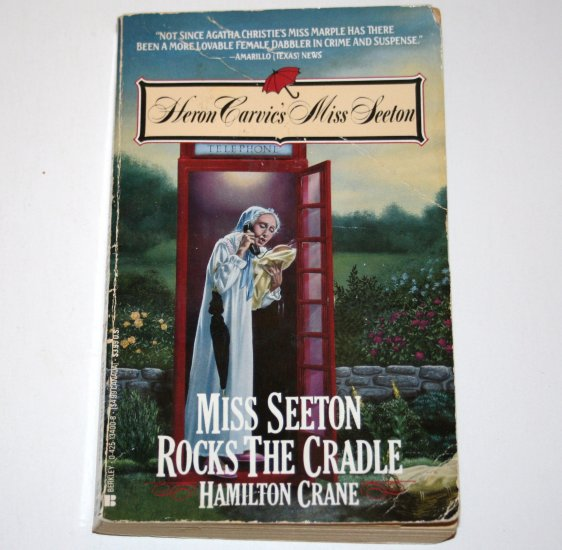 Miss Seeton Rocks the Cradle by HAMILTON CRANE 1992 Heron Carvic's Miss Seeton Cozy Mystery