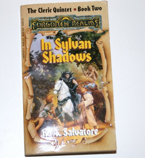 In Sylvan Shadows by R A SALVATORE TSR 1992 Forgotten Realms The Cleric Quintet Book Two